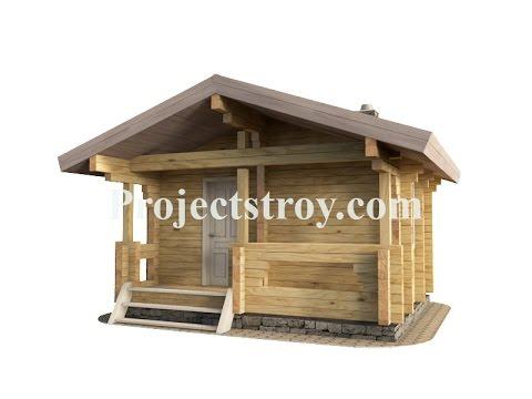 Бесплатно проект бани 5 х 4 м