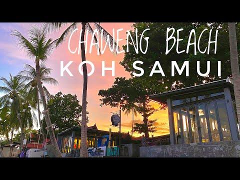 Chaweng Beach 4 5 2021 | KOH SAMUI | Samui German Tour