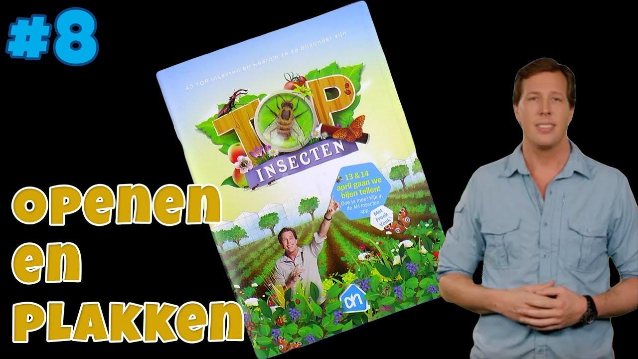 Albert Heijn Top Insecten 8 Plaatjes Plakken En Openen