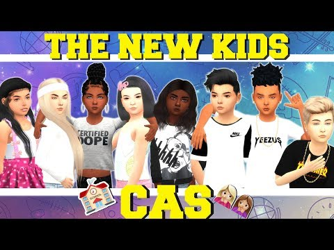 THE NEW KIDS! ??  | The Sims 4 CAS | (FOR RUNAWAY TEEN CHALLENGE!) thumbnail