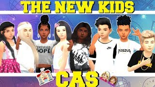THE NEW KIDS! 🏫😱  | The Sims 4 CAS | (FOR RUNAWAY TEEN CHALLENGE!)
