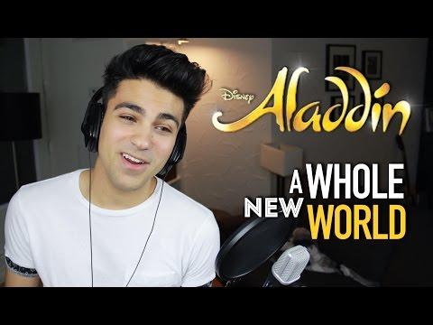 A WHOLE NEW WORLD ALADDIN Part (Male Part) | Daniel Coz