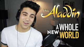 A WHOLE NEW WORLD ALADDIN Part (Male Part) | Daniel Coz