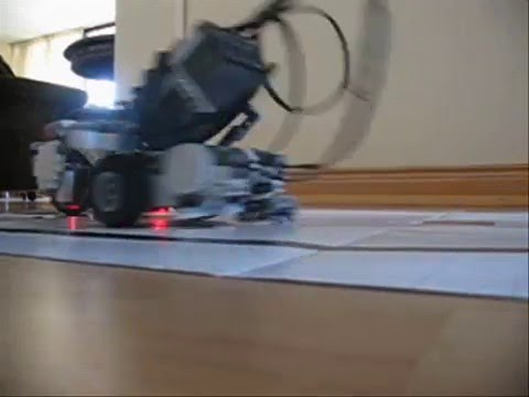 SumoBot Fighting Lego Mindstorms NXT