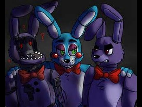 Lets Paint Minecraft Skin Old Bonnie Withered Bonnie Aus Fnaf - Skins para minecraft pe bonnie