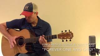 """""""Forever One and Only"""". Original fingerstyle guitar by Dan Rouse"""