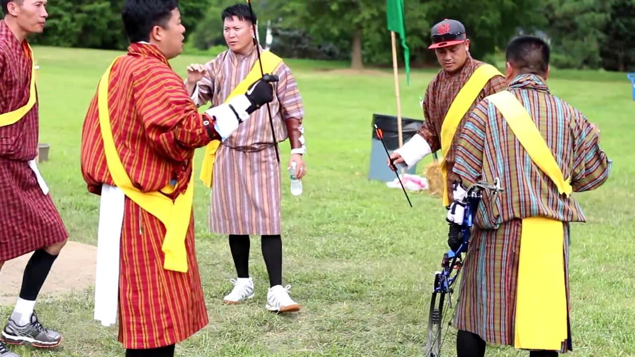 Archery Match In Baltimore Bhutanese Usa 2017