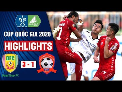 Đồng Tháp Vs Hải Phòng: 3-1 | Highlights Cúp Quốc Gia 2020 | On Sports
