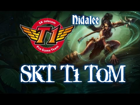 SKT T1 TOM NIDALEE vs Evelynn Jungle