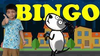 BINGO Dog Song - Cartoon Animation Rhymes & Songs for Children - Nursery Rhyme With Lyrics  -