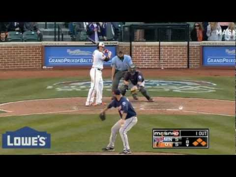 Baltimore Orioles Vs Minnesota Twins Chris Davis Grand Slam 2013