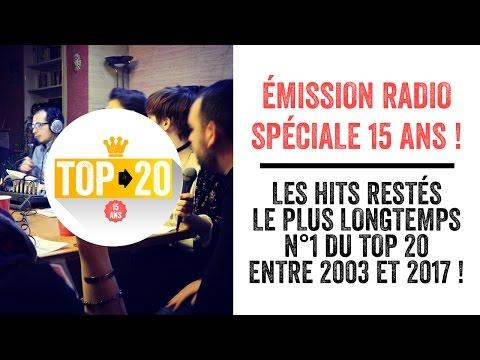 LE TOP 20 des hits restés le plus longtemps n°1 ! (Émission Radio en public)