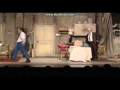 """The Funniest Live Blooper Ever [""""Bottom"""" stage show]"""