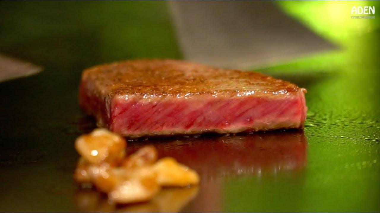 2028c2cbd30c Japan s Most Expensive Steak - Matsusaka Wagyu Beef Teppanyaki - YouTube