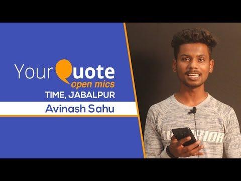 'Tum Jitna Samajhi Nahi' & More By Avinash Sahu | Hindi/Urdu Shayari | YQ - Jabalpur (Open Mic 4)