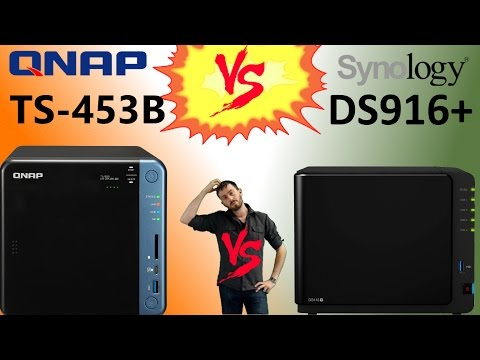 The Synology DS916+ NAS versus the QNAP TS-453B NAS - Brand vs Brand Faceoff
