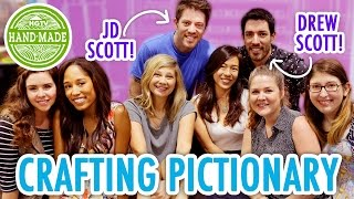 Crafting Pictionary featuring The Property Brothers! - HGTV Handmade
