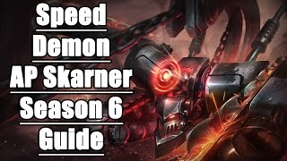 AP SPEED Skarner - How and Why it Works! - League of Legends