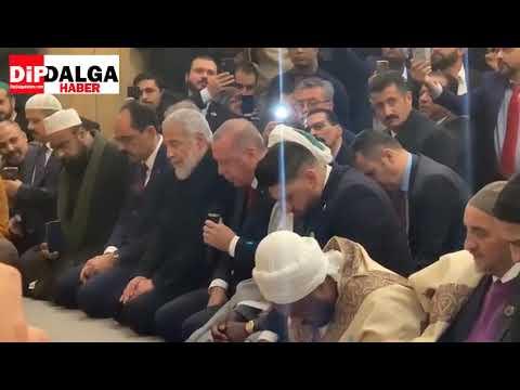 Tayyip Erdogan Cambridge Merkez Camii Açılışı