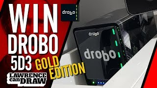 WIN a FREE DROBO 5D3 Gold Edition!!! 😮 Giveaway Competition