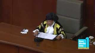 Governor General Dame Louise Lake-Tack Delivers Throne Speech