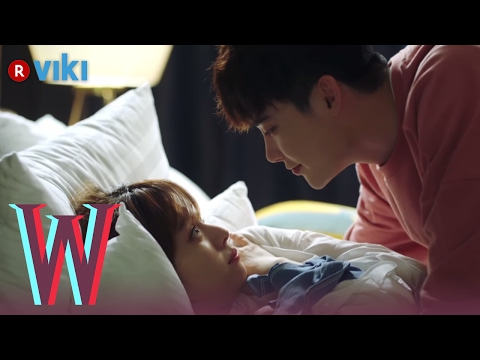 w---ep-7-|-lee-jong-suk-&-han-hyo-joo-cuddling-in-bed-|-korean-drama