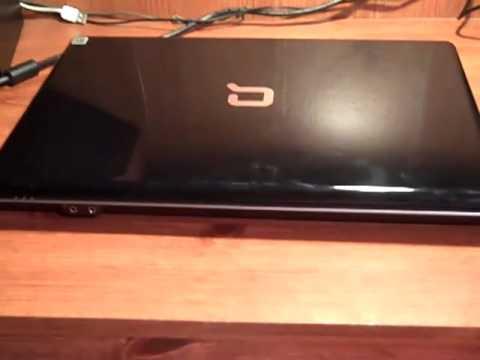 compaq presario cq61 319wm youtube. Black Bedroom Furniture Sets. Home Design Ideas