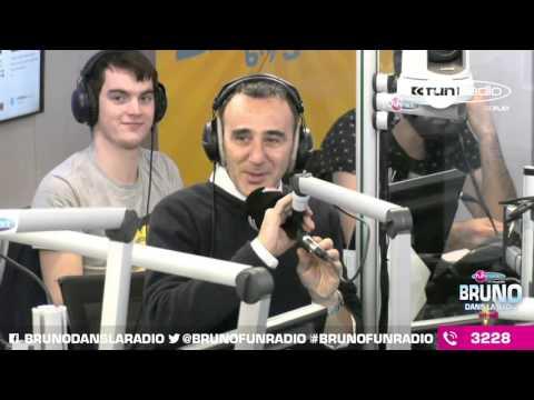 Elie Semoun co-anime #BrunoFunRadio (04/12/2015) - Best Of en Images de Bruno dans la Radio