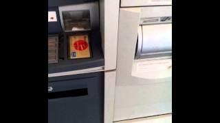 Приём наличных в банкомате Банка Москвы