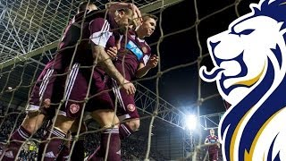 Hearts on a roll as they beat Buddies at Tynecastle