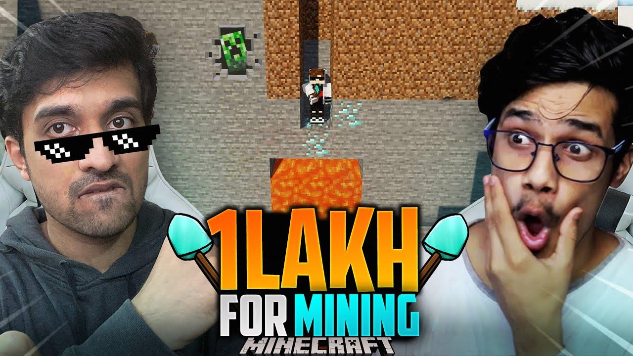 1Lakh for Mining || Mr. Random. @GamerFleet
