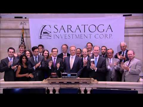 Saratoga Investment Corp. Rings NYSE Closing Bell