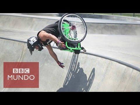 VIDEO: Acrobacias mortales en silla de ruedas