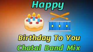 Happy Birthday Dj Song  Happy Birthday Piano Chatal Band Dj mix  Happy Birthday Song  Dj Anji Smiley