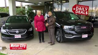 Daily Deal Commercials for Motor City Buick GMC