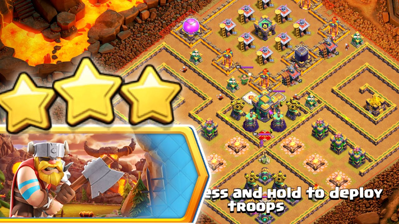 How to beat Mega Pekka In Challenge ! Clash of Clans-coc