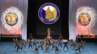 2017 NCC Finals - NU Pep Squad (COED College Cheer)