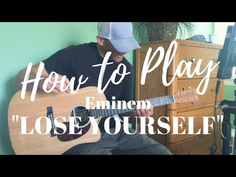 How To Play Lose Yourself by Eminem - Guitar Tutorial