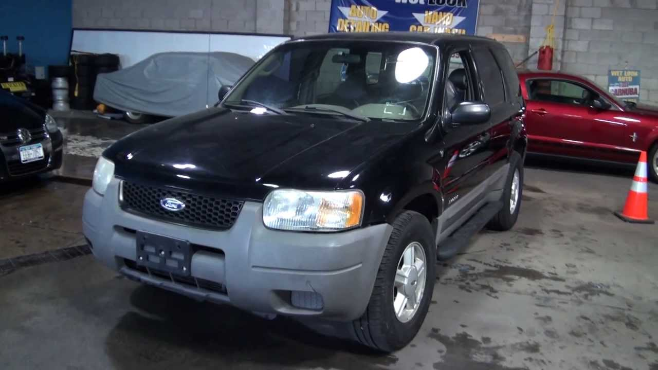 2001 ford escape xls v6