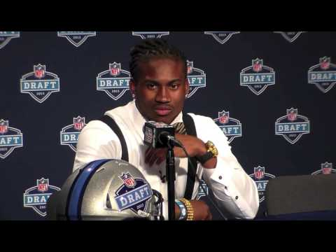 Cordarrelle Patterson Minnesota Vikings WR NFL Draft 2013 1st Round Pick Interview