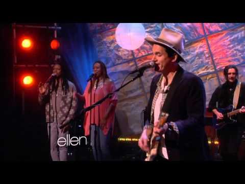 John Mayer - 'Something Like Olivia'  [Ellen Degeneres 04/02/13]