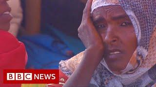 Tigray crisis: Thousands seek refuge on Sudan-Ethiopia border - BBC News