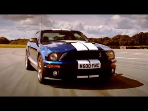 Mustang GT500 car review – Top Gear – BBC