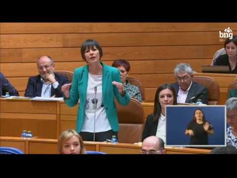 """Ana Pontón: """"ENCE non está por encima da lei por moito que sexa unha empresa do IBEX35"""""""