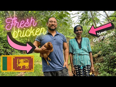 How to Buy Fresh Chicken in Sri Lanka Meet the Meat Butcher Village Life