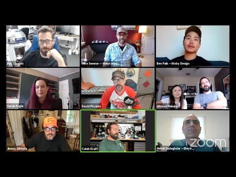 Top YouTube Makers Discuss Making Projects on Video with Make: magazine