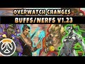 Overwatch New Changes Hanzo Ability, Tracer, Genji, Brigette, Junkrat NERFS : Lucio BUFF! 1.23 PTR