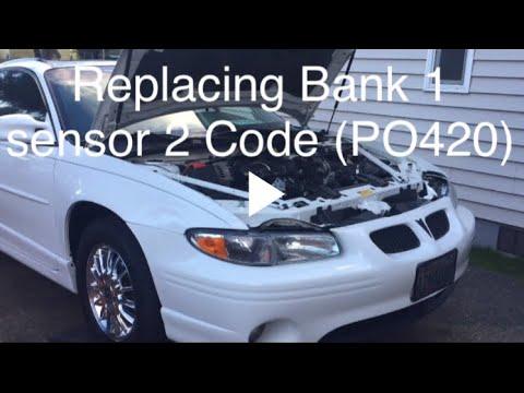 replacing o2 sensor on pontiac and other gm 3 8 code p0420 youtube replacing o2 sensor on pontiac and other gm 3 8 code p0420