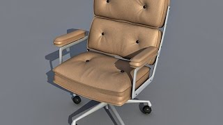 3D MODELING CHAIR( AUTOCAD)