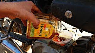 मेने गाड़ी में इंजिन ऑइल कि जगह शहद डाल दिया अब क्या होगा...? - Using Honey as Engine Oil in Bike